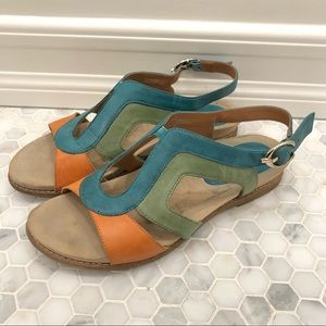 Multicolored Earthies Sandals
